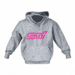 Детская толстовка STI Logo