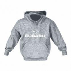 Детская толстовки Subaru - FatLine