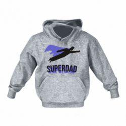Дитяча толстовка Super dad flies
