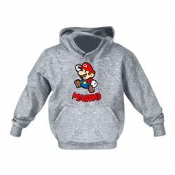 Детская толстовки Супер Марио - FatLine