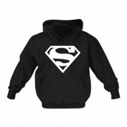 Детская толстовка Superman одноцветный