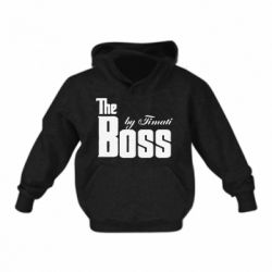 Детская толстовка The Boss by Timati