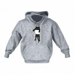 Детская толстовка The cat tore the pocket