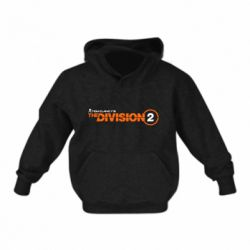 Дитяча толстовка The division 2 logo