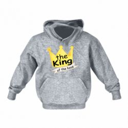 Дитяча толстовка The king of the house