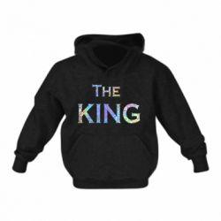 Детская толстовка The King