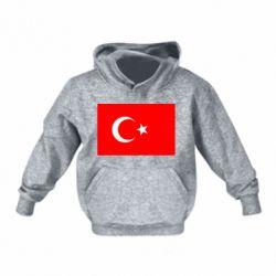Детская толстовка на флисе Турция