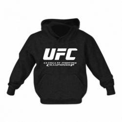 Детская толстовка UFC