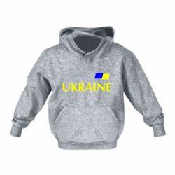 Детская толстовка UKRAINE FLAG