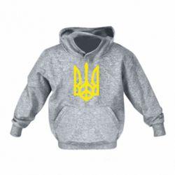 Детская толстовка Ukraine Peace