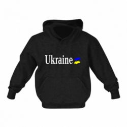 Детская толстовка Ukraine
