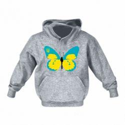 Детская толстовка Український метелик