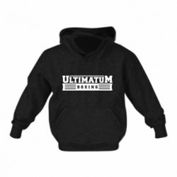 Детская толстовка Ultimatum Boxing