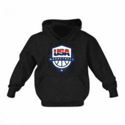 Детская толстовка USA basketball