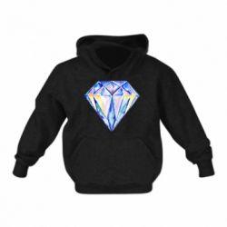 Детская толстовка Watercolor diamond