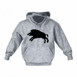 Дитяча толстовка Wild boar