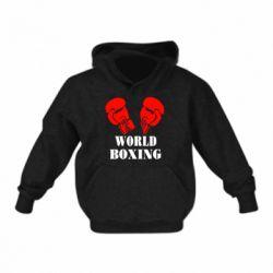 Детская толстовка World Boxing