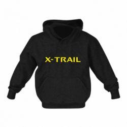 Детская толстовка на флисе X-Trail