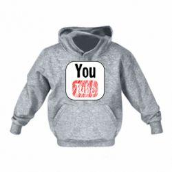 Дитяча толстовка YouTube