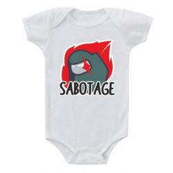 Дитячий бодік Among Us Sabotage