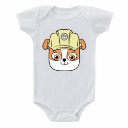 Дитячий бодік Dog in helmet