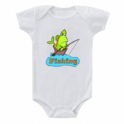 Детский бодик Fish Fishing