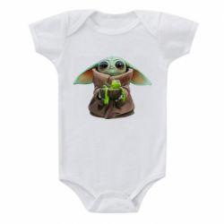Дитячий бодік Grogu and Kermit