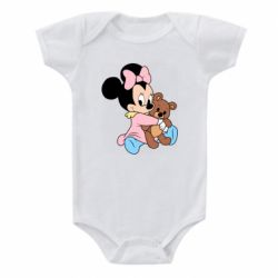 Дитячий бодік Minnie And Bear