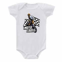 Детский бодик Motocross
