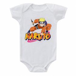 Дитячий бодік Naruto with logo