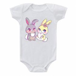 Дитячий бодік Rabbits In Love