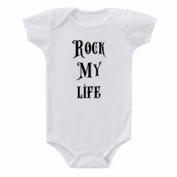 Детский бодик Rock my life