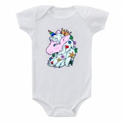 Дитячий бодік Unicorn Princess