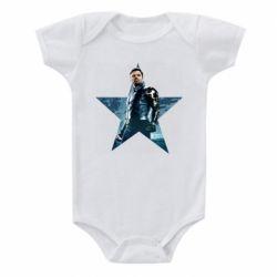 Дитячий бодік Winter Soldier Star