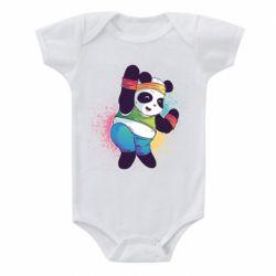Дитячий бодік Zumba Panda