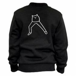Дитячий бомбер Cat in pants