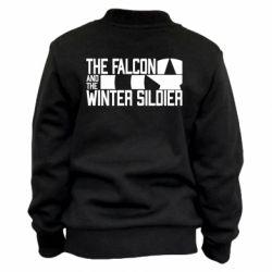 Дитячий бомбер Falcon and winter soldier logo