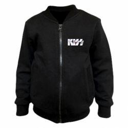 Дитячий бомбер Kiss the music band