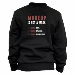 Детский бомбер Make Up Is Not A Mask