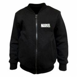 Детский бомбер Marvel logo and vine