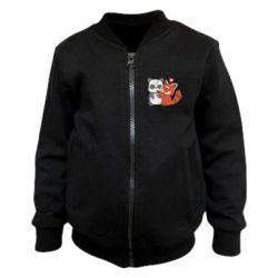 Дитячий бомбер Panda and fire panda