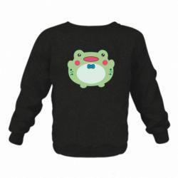 Дитячий реглан (світшот) Baby frog