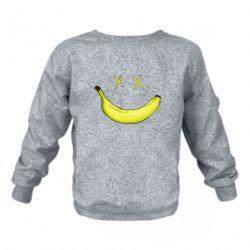 Детский реглан (свитшот) Banana smile