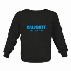 Детский реглан (свитшот) Call of Duty Mobile