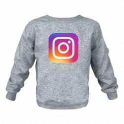 Дитячий реглан (світшот) Instagram Logo Gradient