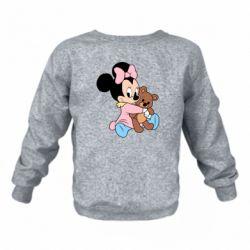 Дитячий реглан (світшот) Minnie And Bear
