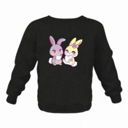 Дитячий реглан (світшот) Rabbits In Love