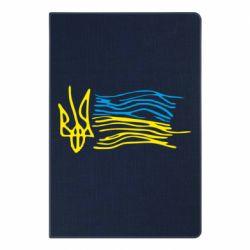 Блокнот А5 Дитячий малюнок прапор України