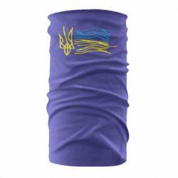 Бандана-труба Дитячий малюнок прапор України