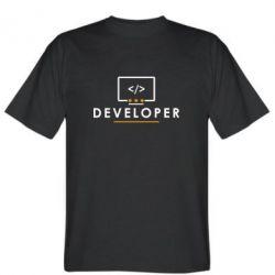 Футболка Developer